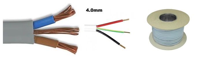 low price 4mm twin and earth cable with great package