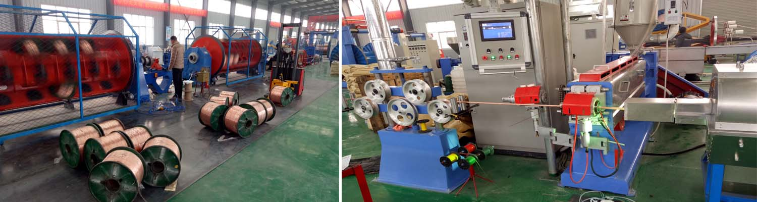 huadong pvc twin and earth cable producing process